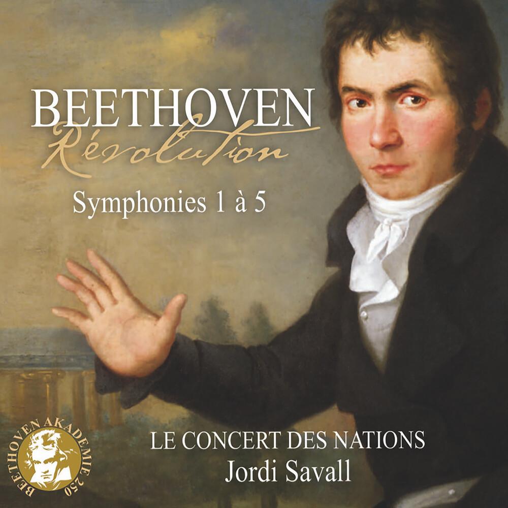 Le Concert Des Nations / Jordi Savall - Revolution - Beethoven: Symphonies Nos. 1-5