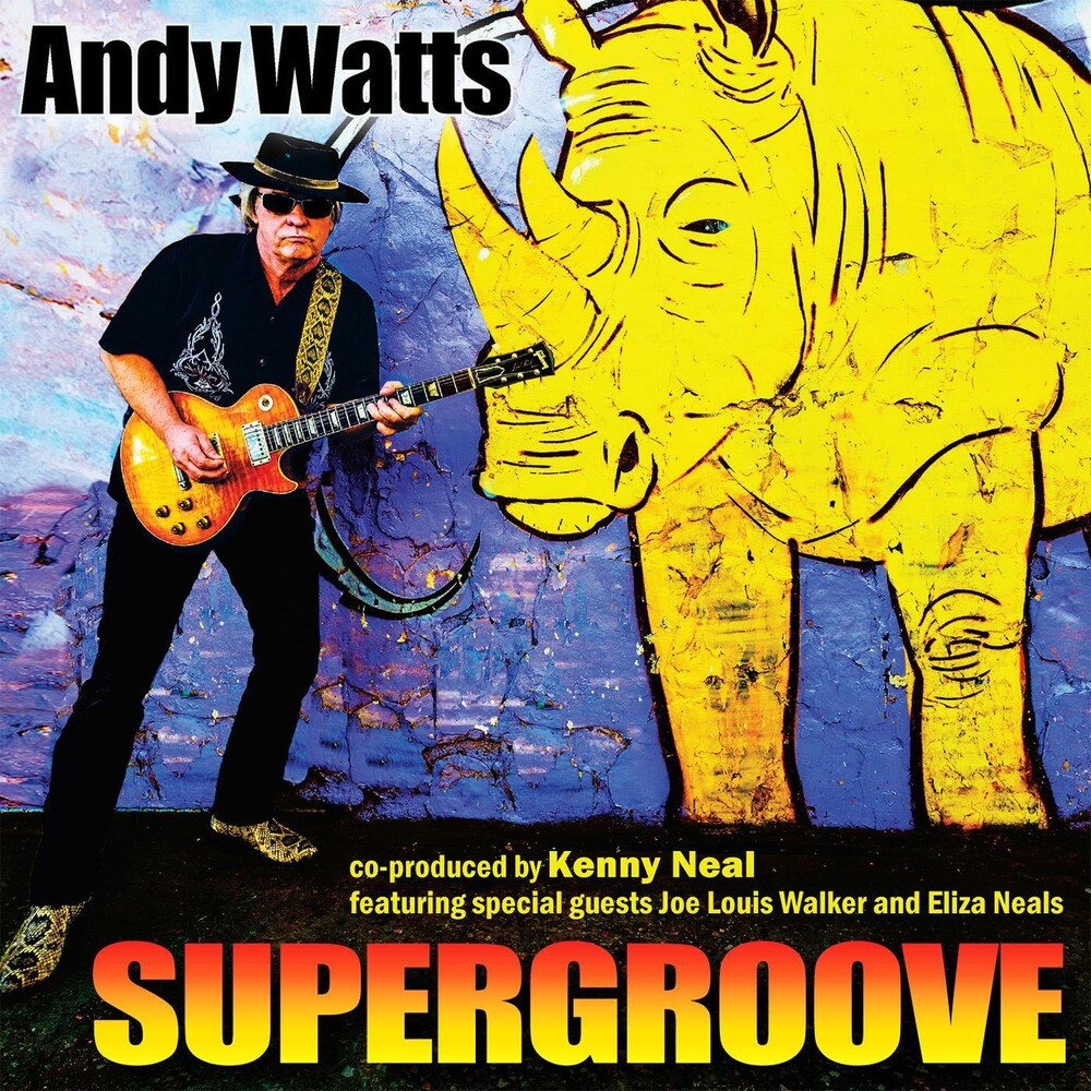 Andy Watts - Supergroove [With Booklet]