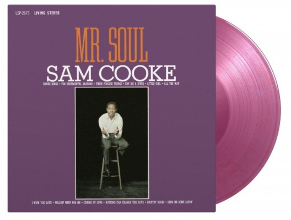 Sam Cooke - Mr. Soul [Import Limited Edition180-Gram Purple Marble Colored LP]