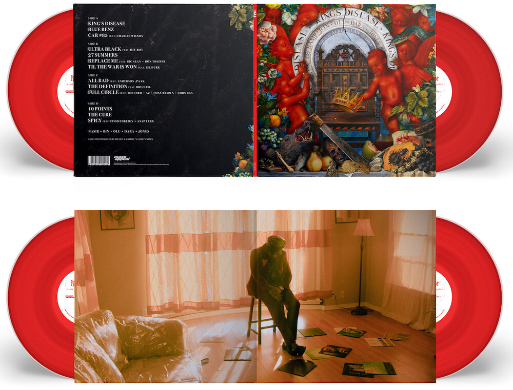 Nas - King's Disease [Red 2 LP]