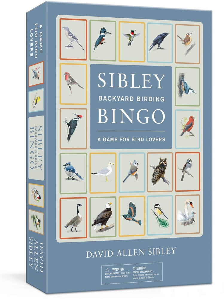 - Sibley Backyard Birding Bingo: A Game for Bird Lovers