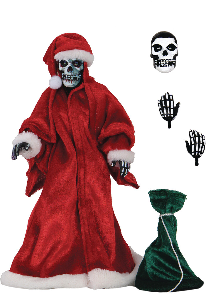- NECA - Misfits Holiday Fiend 8 Clothed Action Figure