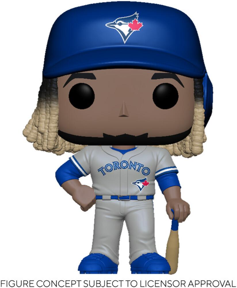 Funko Pop! MLB: - FUNKO POP! MLB: Blue Jays- Vladimir Guerrero Jr. (Road Uniform)