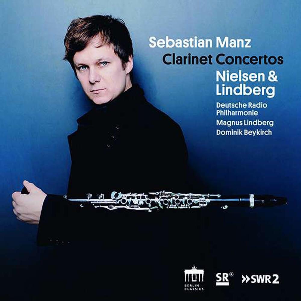 Lindberg / Manz / Lindberg - Clarinet Concertos