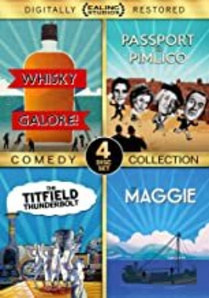 Ealing Studios Comedy Collection - Ealing Studios Comedy Collection (4pc)