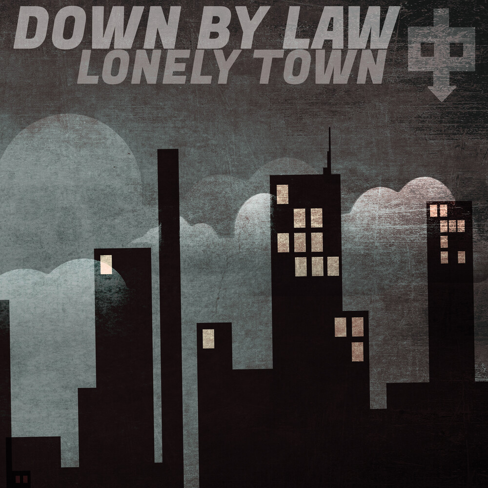 Down By Law - Lonely Town (Black & White Haze Vinyl) (Blk) (Wht)