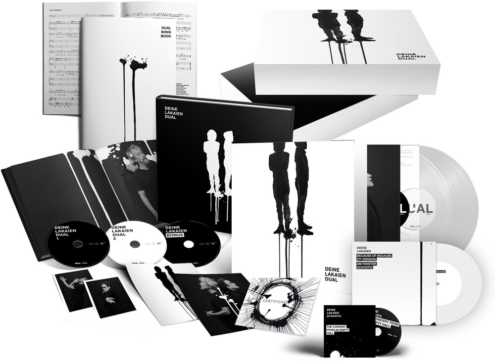 Deine Lakaien - Dual (Box Set) (W/Cd) (W/Dvd) (Gate) [Limited Edition] [180 Gram]