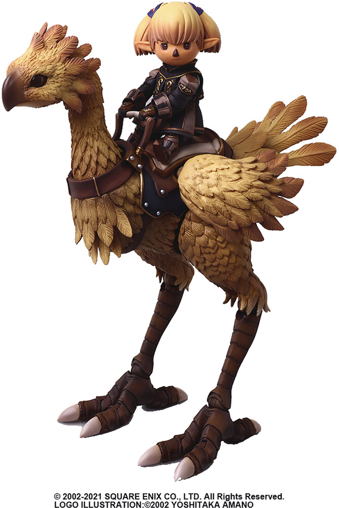 - Square Enix - Final Fantasy XI Bring Arts Shantotto & Chocobo