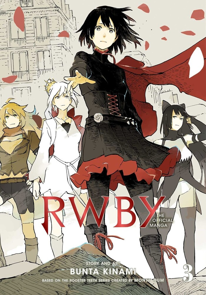 Rooster Teeth Productions - RWBY: The Official Manga, Vol. 3: The Beacon Arc