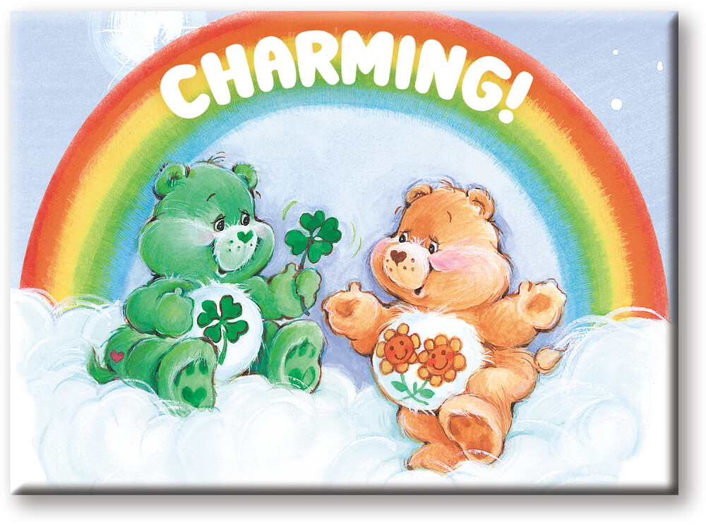 Care Bears Charming 2.5 X 3.5 Flat Magnet - Care Bears Charming 2.5 x 3.5 Flat Magnet