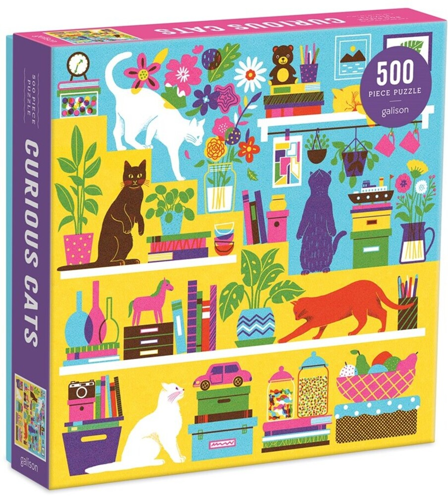 - Curious Cats 500 Piece Puzzle