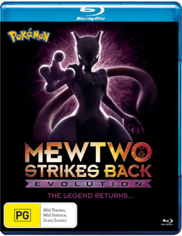 - Pokemon: Movie 22-Mewtwo Strikes Back Evolution [All-Region]