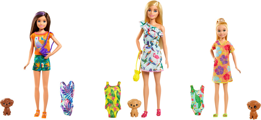 - Mattel - Barbie Sister with Pet and Accessory Assortment