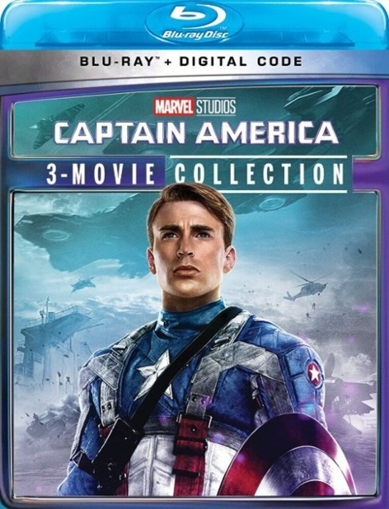 - Captain America: 3-Movie Collection (3pc) / (3pk)
