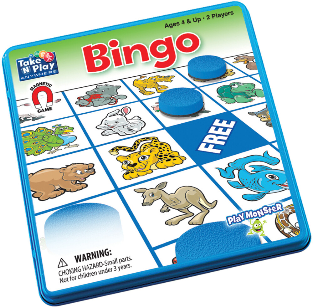 - Take N Play Anywhere Bingo Magnetic Game (Wbdg)