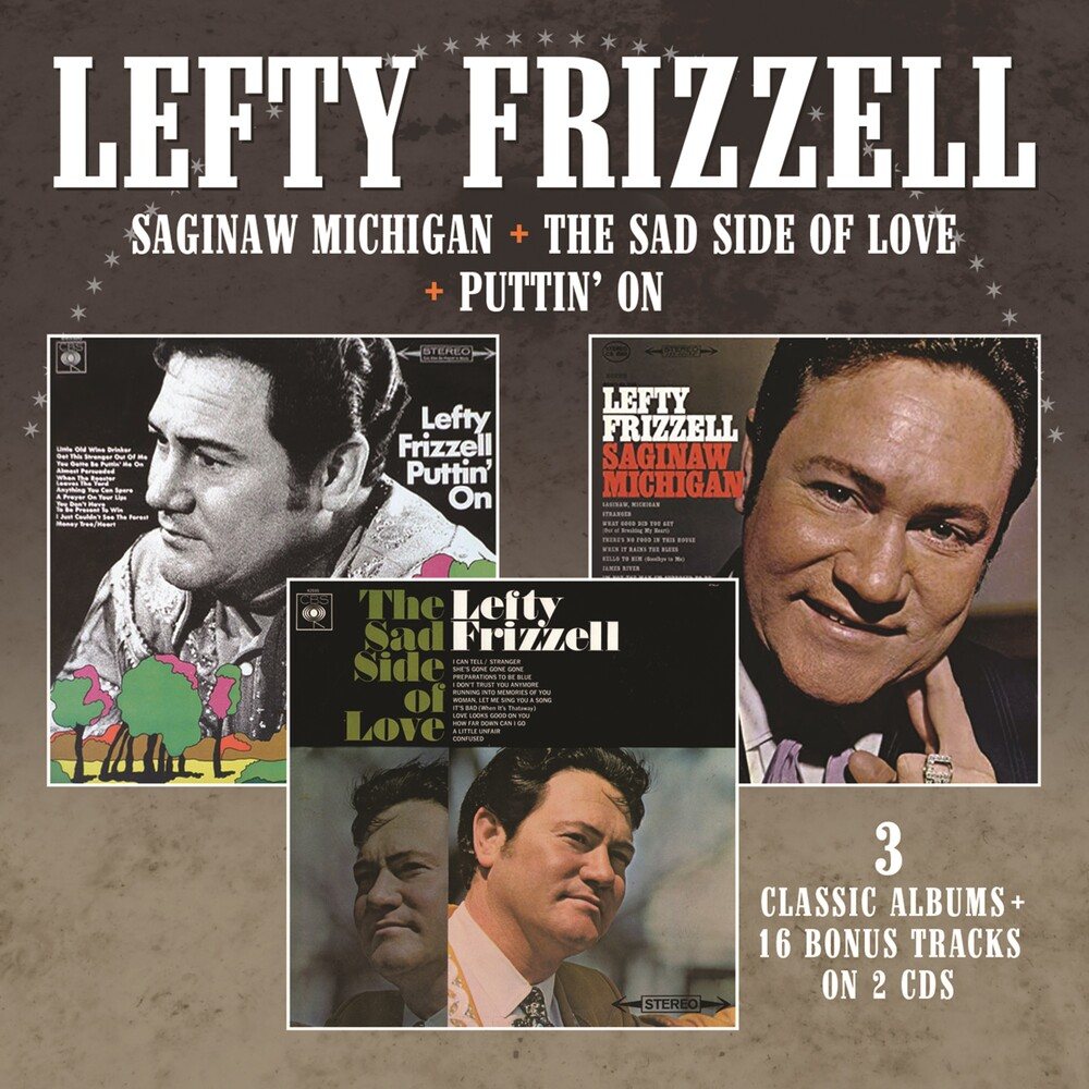 Lefty Frizzell - Saginaw Michigan / Sad Side Of Love / Puttin On