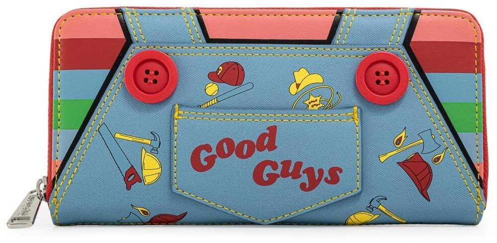 Loungefly Childs Play: - Chucky Cosplay Zip Around Wallet (Wal)