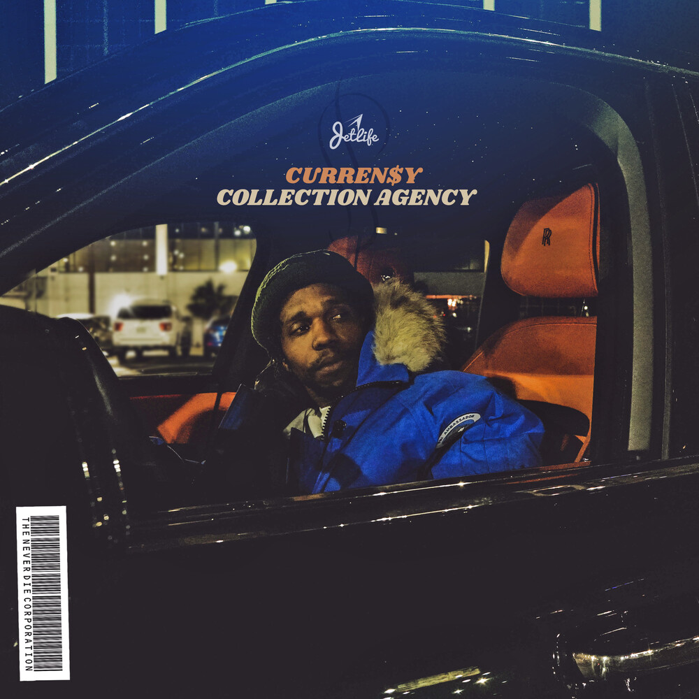 Currensy - Collection Agency (Orange Vinyl) [Colored Vinyl] (Org)