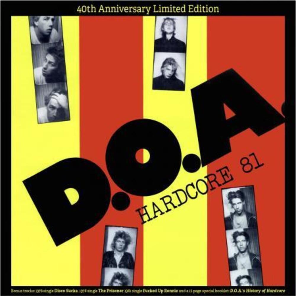 Doa - Hardcore '81 (Colored Vinyl) [Colored Vinyl]
