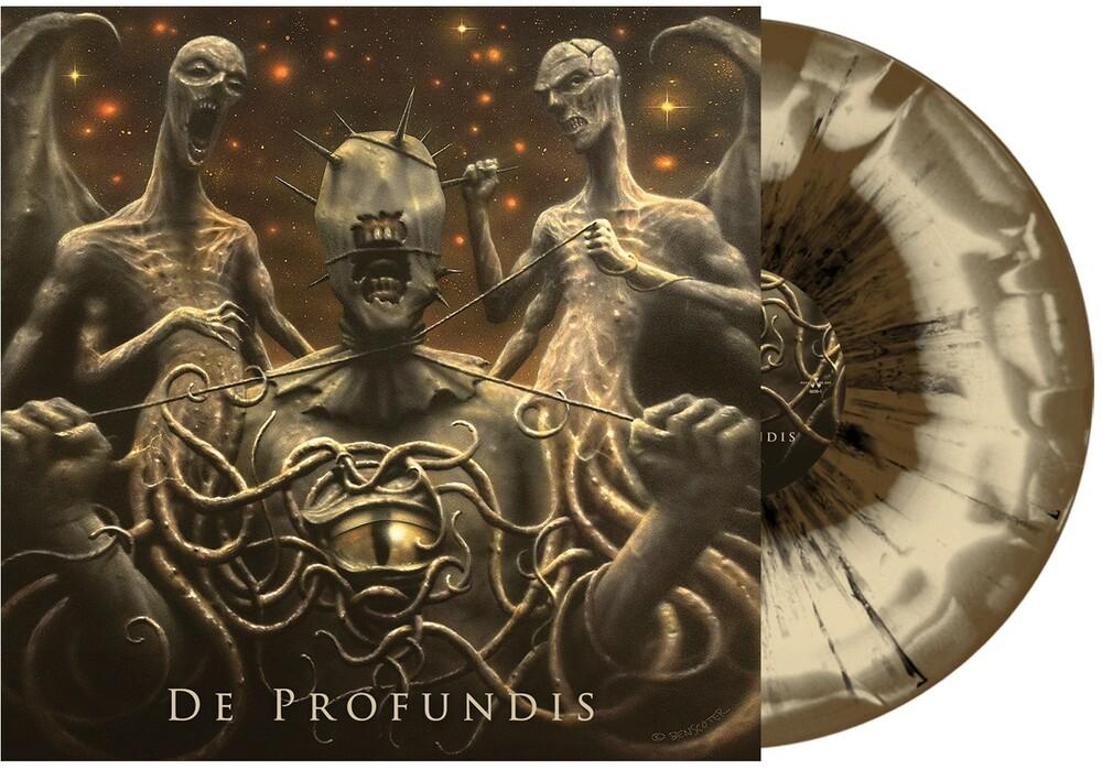 Vader - De Profundis (Gold & Bone W/ Black Splatter Vinyl)