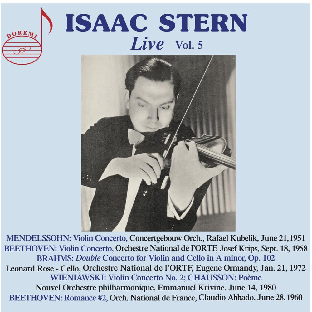 Isaac Stern - Isaac Stern Vol 5 (Can)