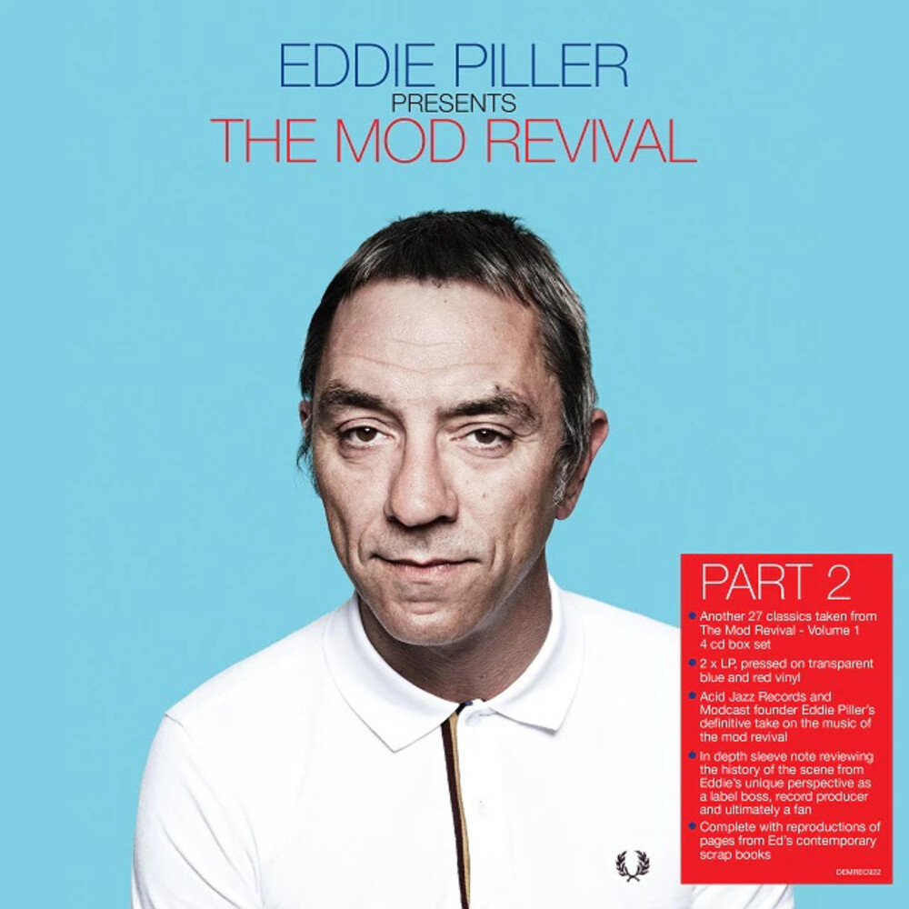 Eddie Piller: More Of The Mod Revival / Various - Eddie Piller: More Of The Mod Revival / Various