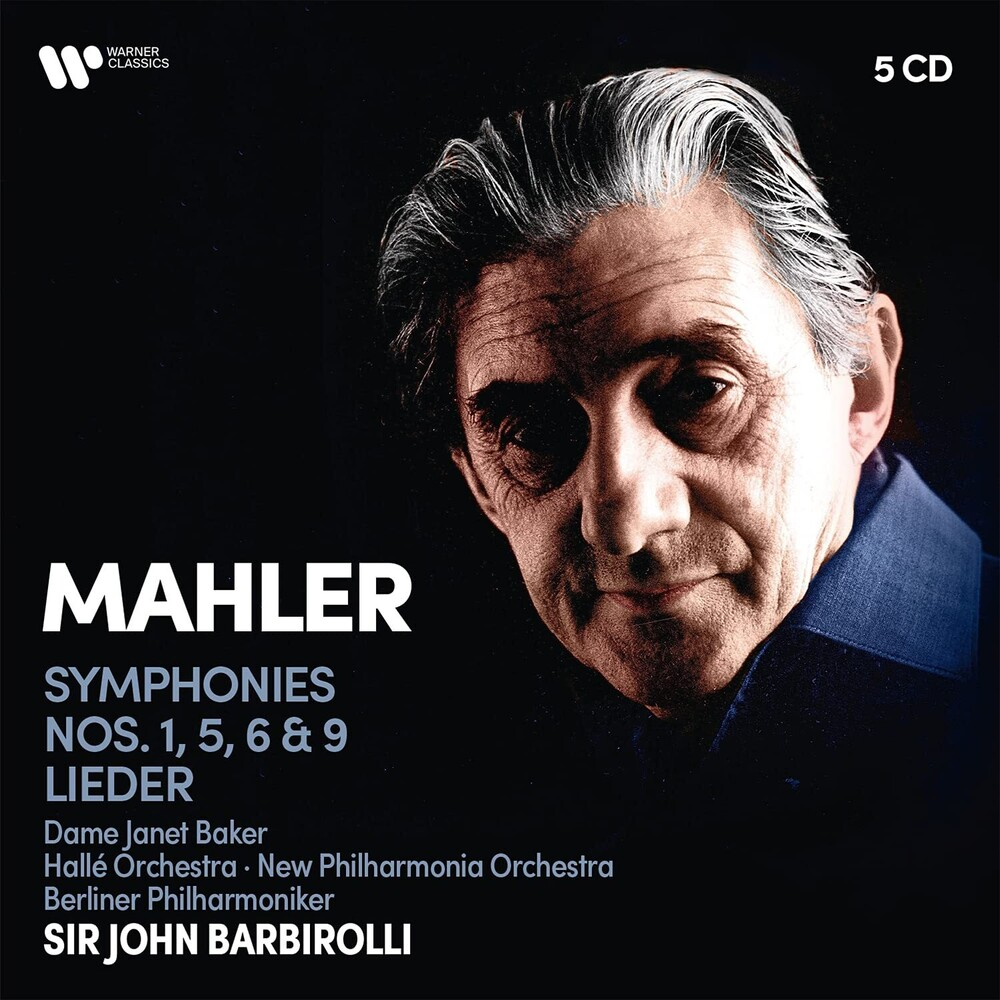 - Mahler: Symphonies Nos. 1, 5, 6, 9, Lieder