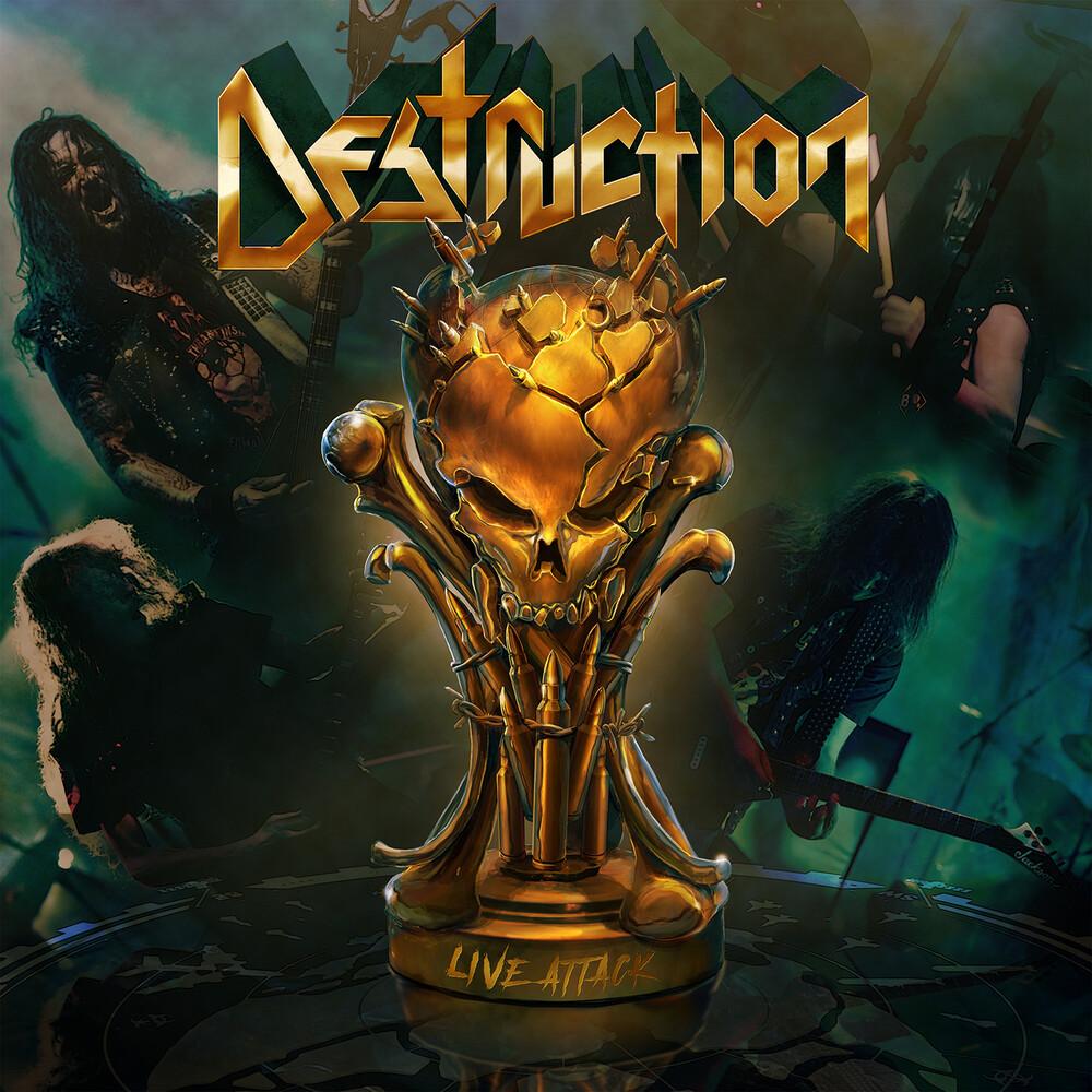 Destruction - Live Attack (Wbr)