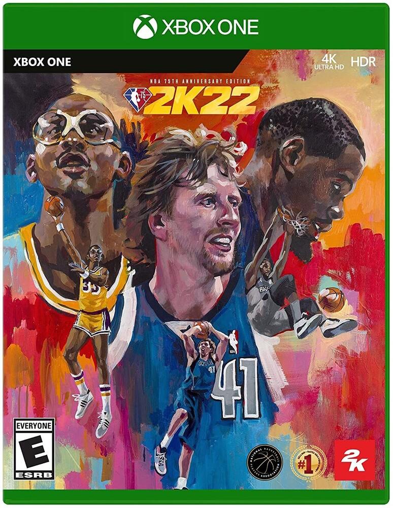 Xb1 NBA 2K22 75th Anniversary - Xb1 Nba 2k22 75th Anniversary