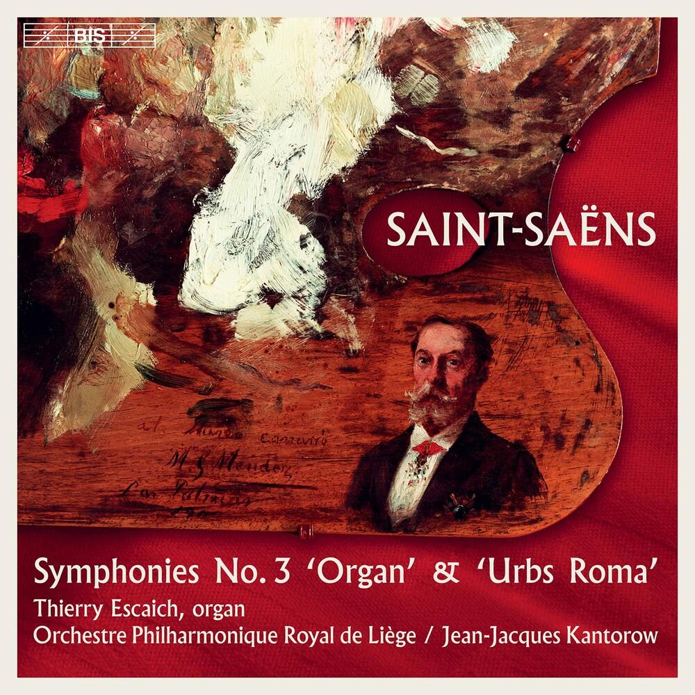 Saint-Saens / Kantorow / Escaich - Symphonies 2 (Hybr)
