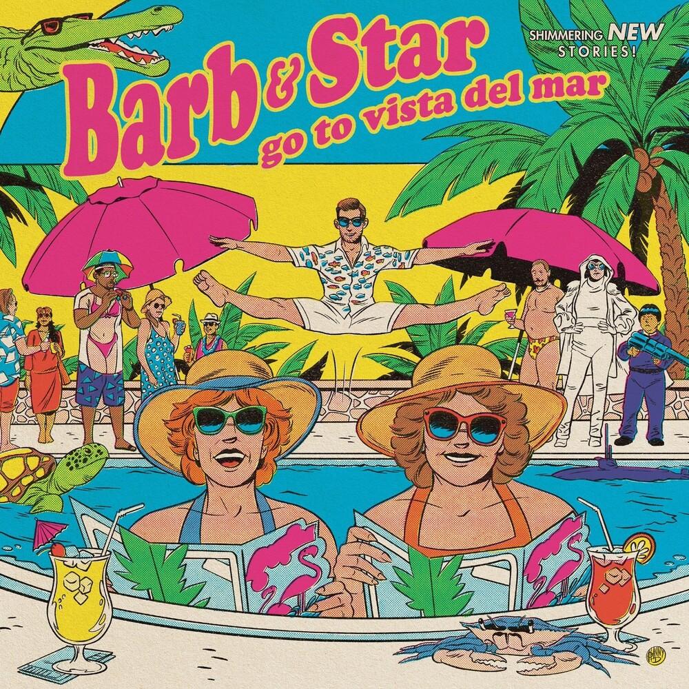 Christopher Lennertz  / Taylor,Dara (Colv) (Ogv) - Barb & Star Go To Vista Del Mar [Colored Vinyl] [180 Gram] (Pnk)