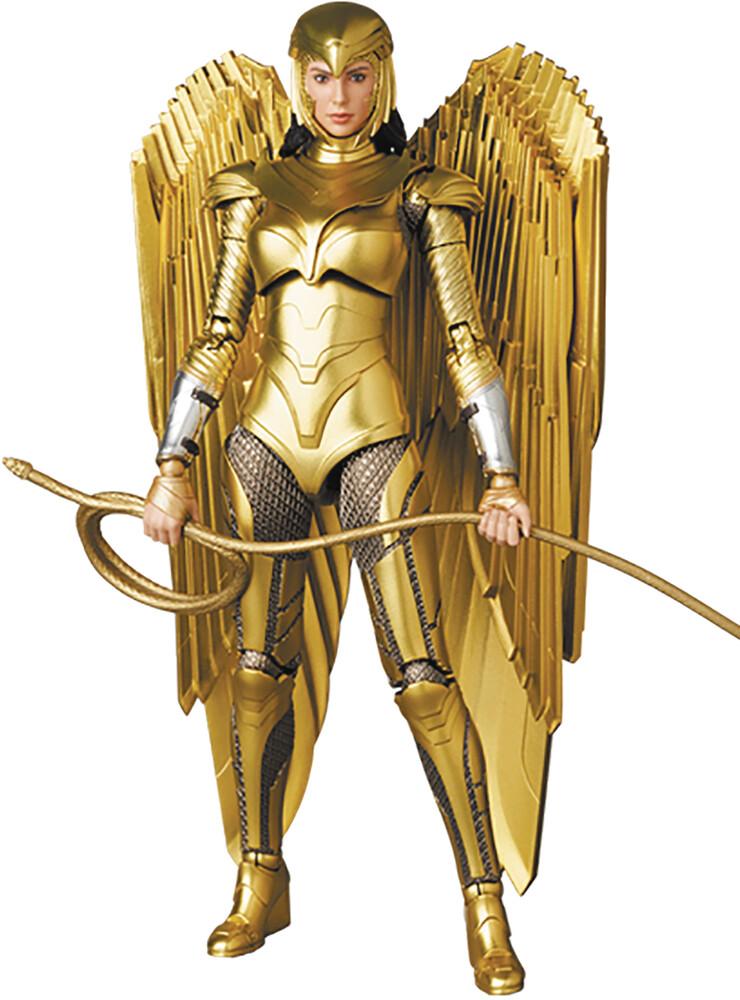 Medicom - Wonder Woman Golden Armor Mafex Af (Afig) (Clcb)