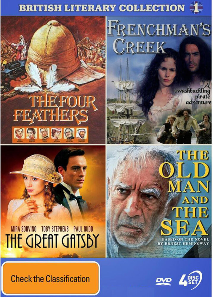 British Literary Coll 1: Four Feathers / Frenchman - British Literary Collection 1: The Four Feathers / The Frenchman's Creek / The Great Gatsby / The Old Man & The Sea [NTSC/0]