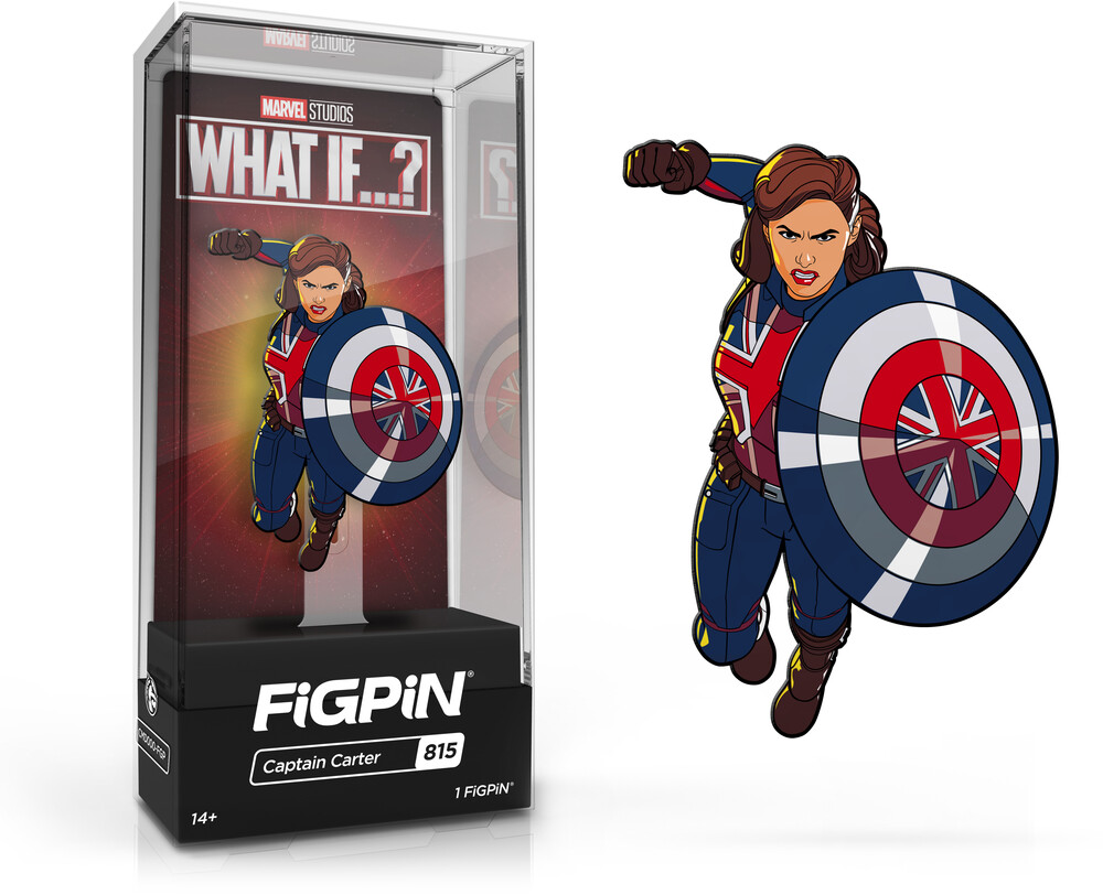 Figpin Marvel What If? Captain Carter #815 - Figpin Marvel What If? Captain Carter #815 (Clcb)
