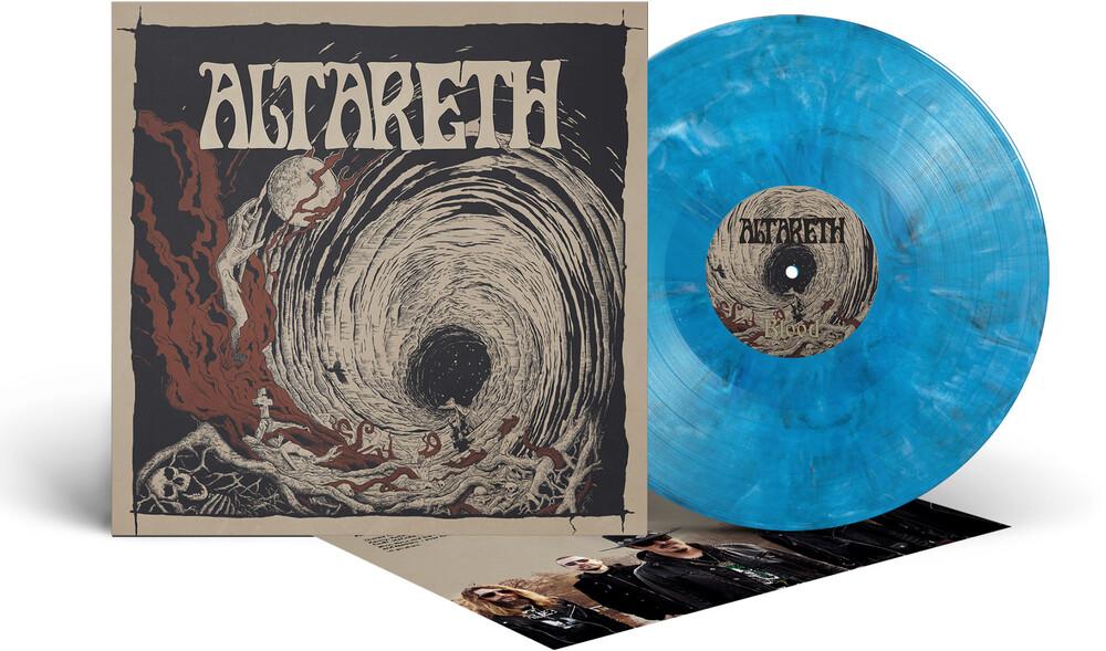 Altareth - Blood (Cool Blue Marble Vinyl) (Blue) [Colored Vinyl]