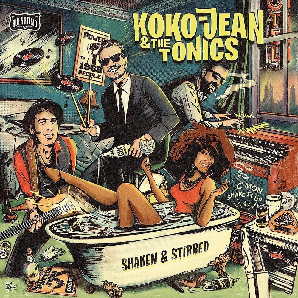 Koko-Jean & The Tonics - Shaken & Stirred (Spa)