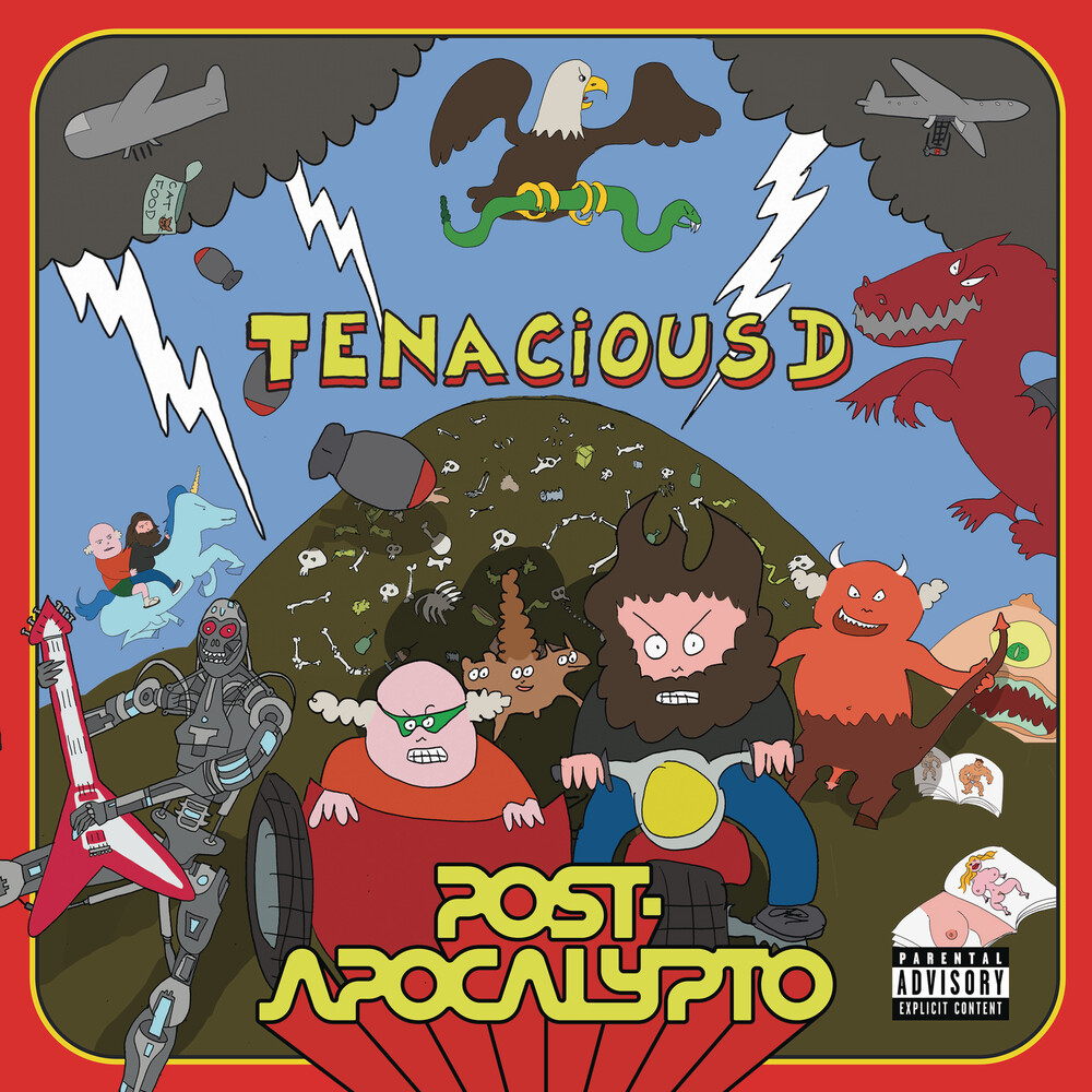 Tenacious D - Post-Apocalypto [Picture Disc LP]