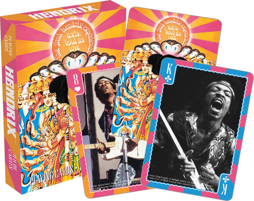 Jimi Hendrix - Jim Hendrix Axis Bold As Love Playing Cards Deck