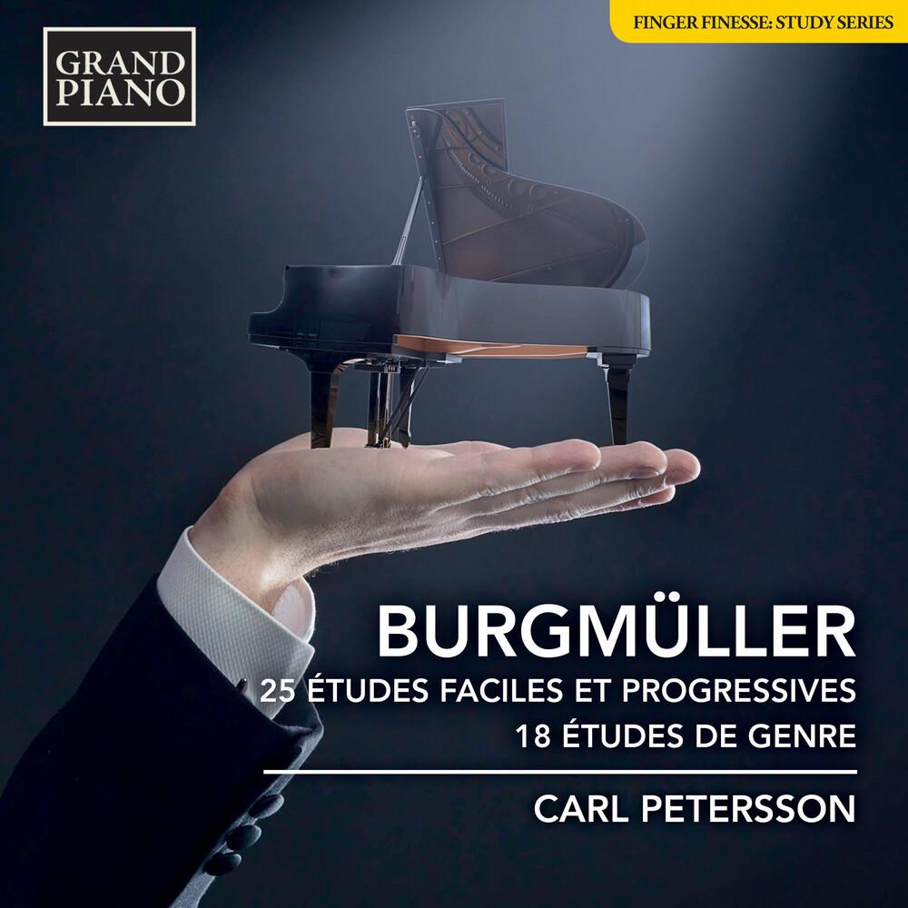 Carl Petersson - 25 Etudes Faciles Et Progressi