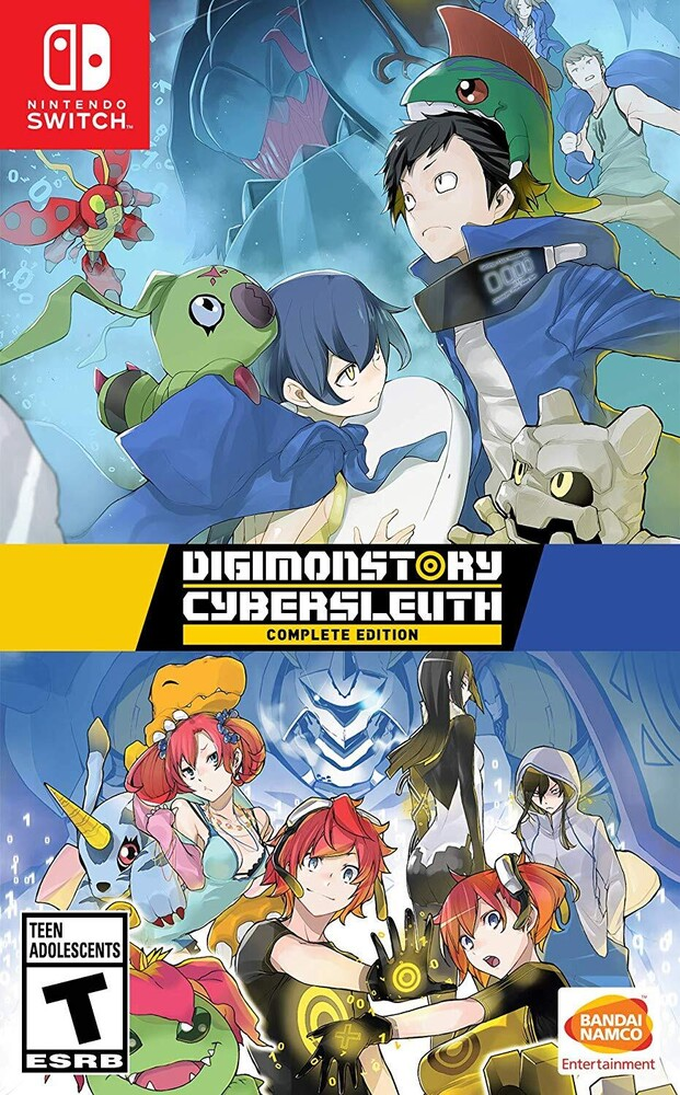 - Digimon Story Cyber Sleuth: Complete Edition for Nintendo Switch
