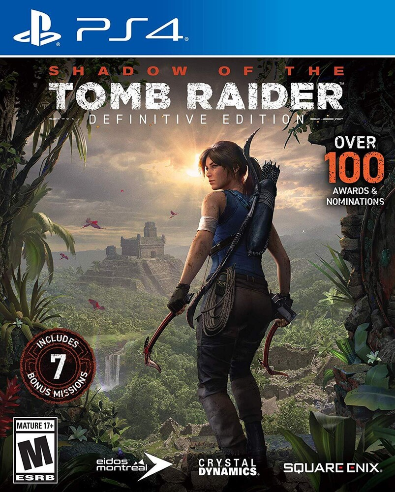 Ps4 Shadow of the Tomb Raider Definitive Edition - Shadow Of The Tomb Raider Definitive Edition