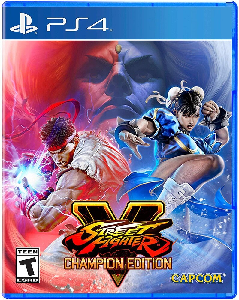 Ps4 Street Fighter V Champion Edition - Street Fighter V Champion Edition