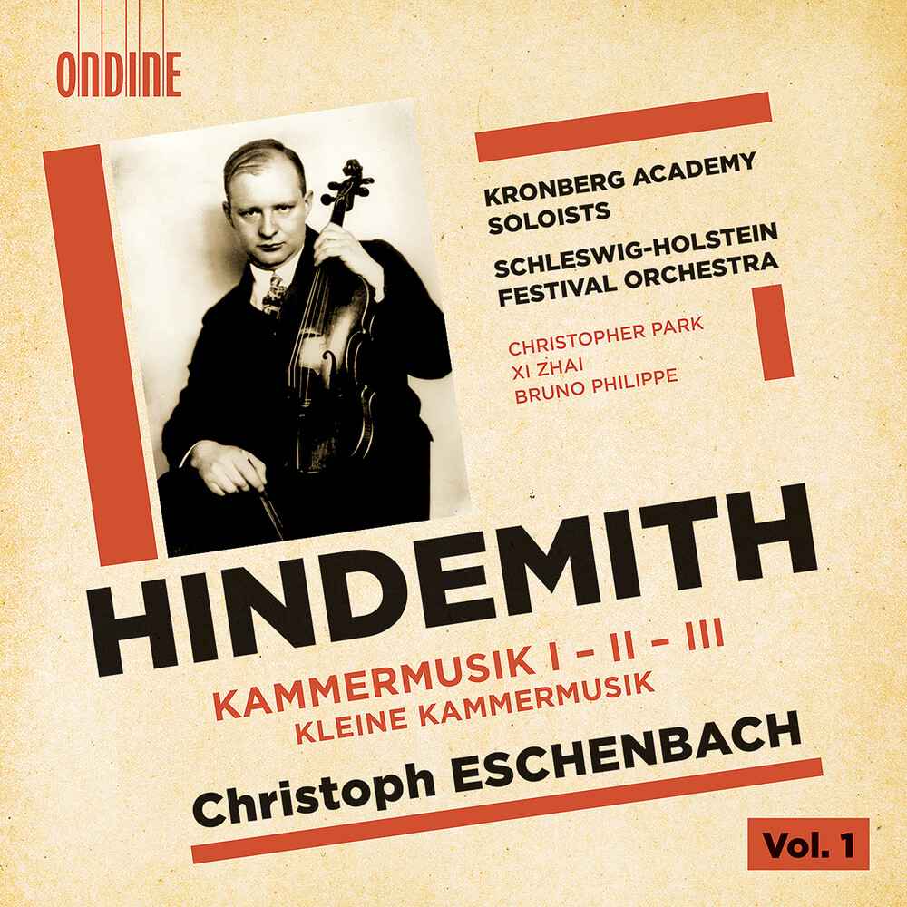 Hindemith / Kronberg Academy Soloists / Eschenbach - Kammermusik I-Iii