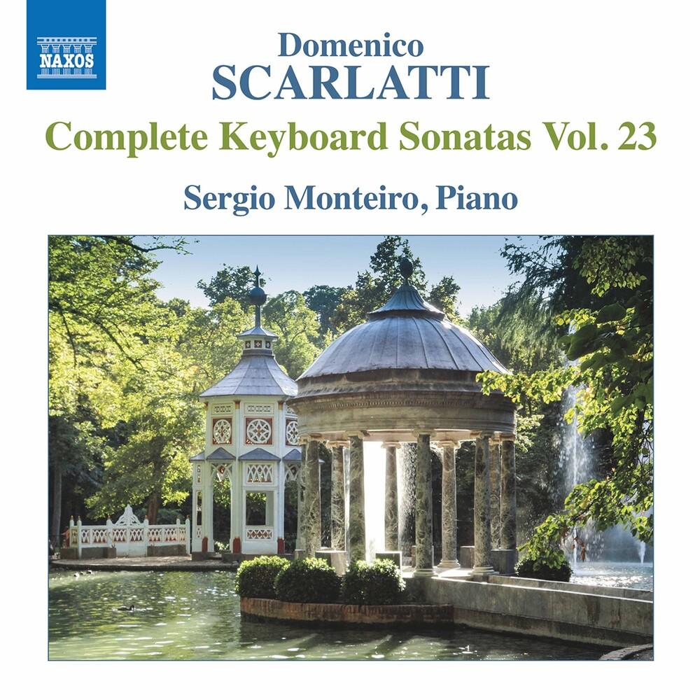 Sergio Monteiro - Keyboard Sonatas 23