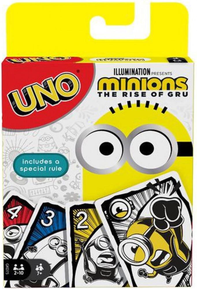 Uno - Mattel Games - UNO Minons 2