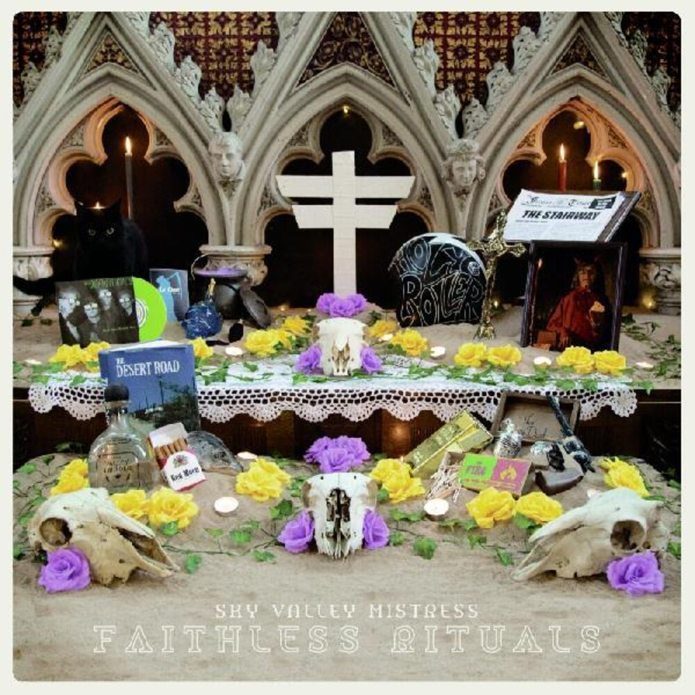 Sky Valley Mistress - Faithless Rituals [Limited Edition Green LP]