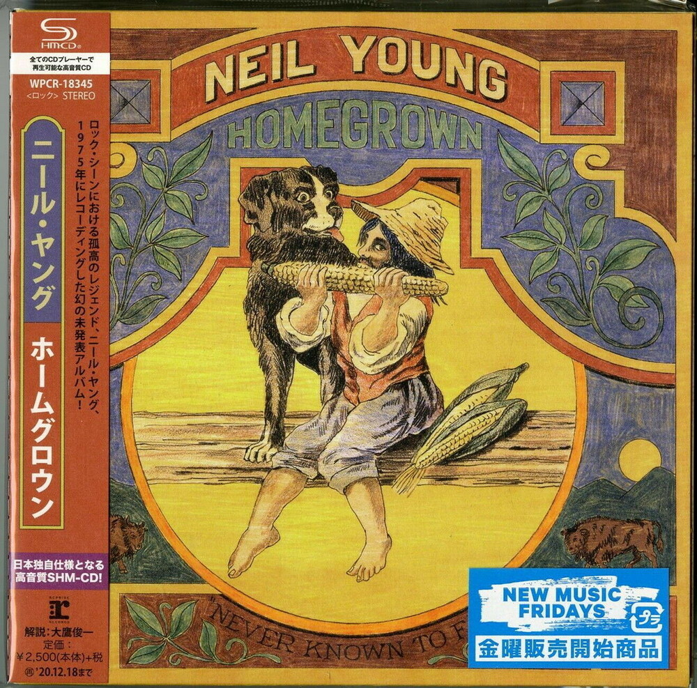 Neil Young - Homegrown [Import]