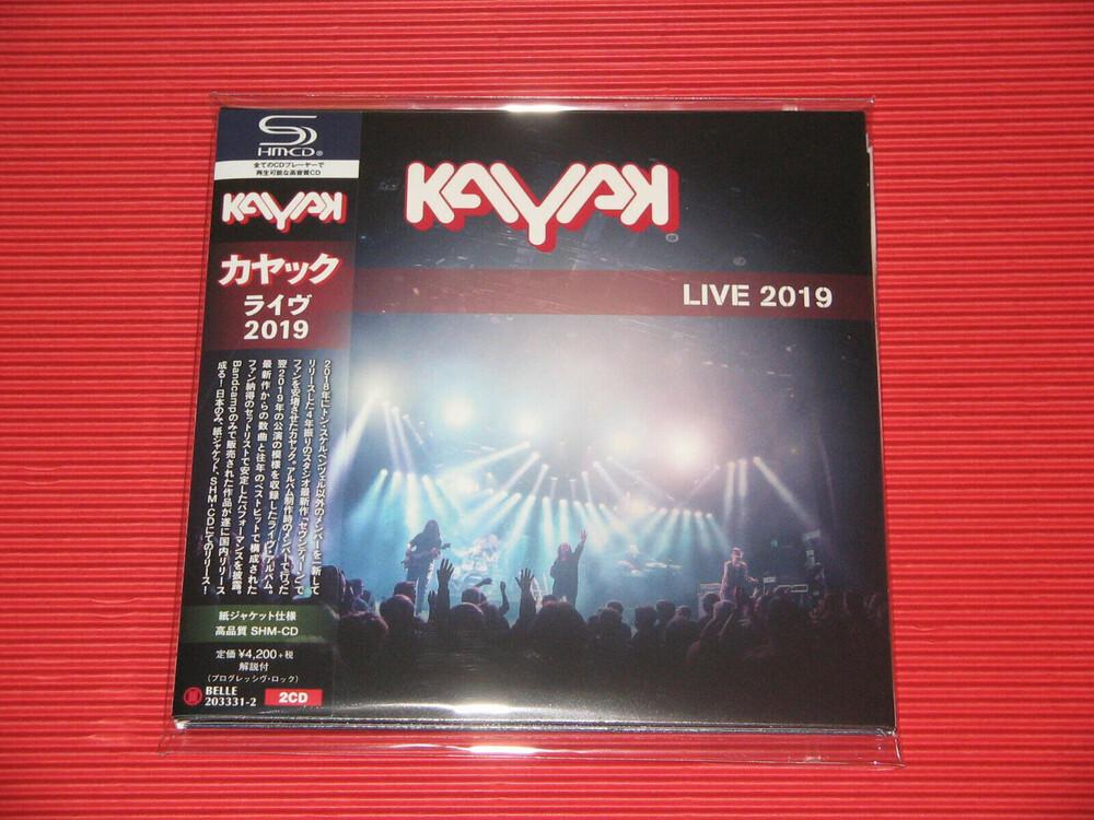 Kayak - Live 2019 (Jmlp) (Shm) (Jpn)