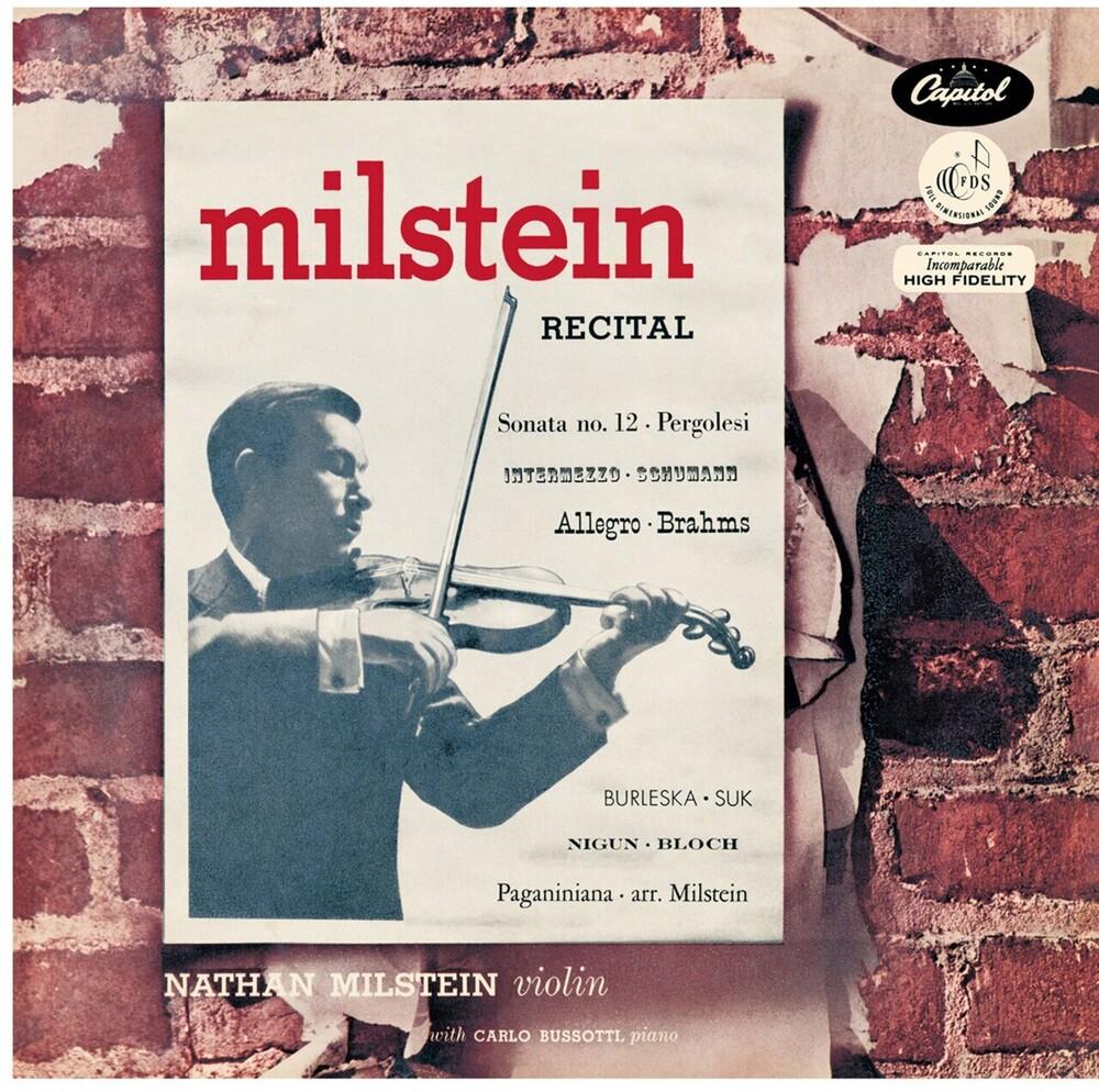 NATHAN MILSTEIN - Nathan Milstein Recital (Ogv)