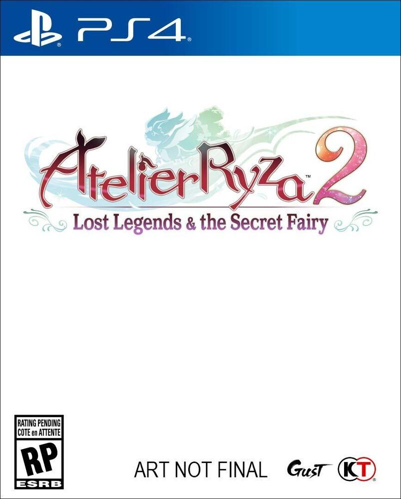 Ps4 Atelier Ryza 2: Lost Legends & the Secret - Ps4 Atelier Ryza 2: Lost Legends & The Secret